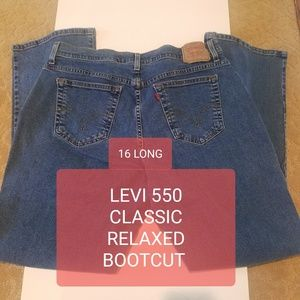 Levi's Jeans classic relaxed bootcut 550 16L